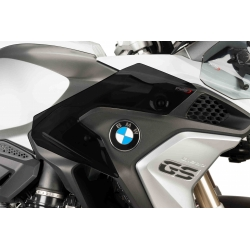 Spodní postranní deflektory Puig pro BMW R1200GS LC 2013+, tmavě kouřové