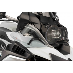 Horní postranní deflektory Puig pro BMW R1200GS LC 2013+, lehce kouřové