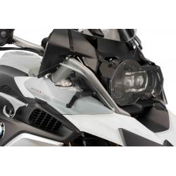 Horní postranní deflektory Puig pro BMW R1250GS, R1200GS LC 2013-2018, F850GS, F750GS, lehce kouřové