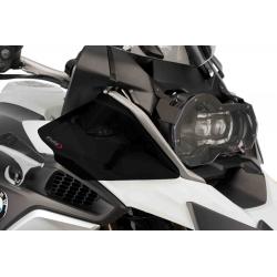 Horní postranní deflektory Puig pro BMW R1200GS LC 2013+, tmavě kouřové