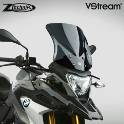 Cestovní plexi ZTechnik VStream 36cm pro BMW G310GS, tmavě kouřové