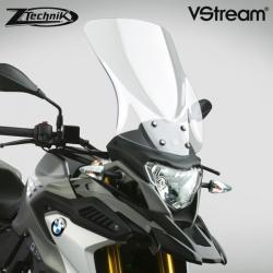 Cestovní plexi ZTechnik VStream 43cm pro BMW G310GS, lehce kouřové