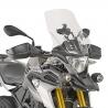 Vysoké cestovní plexi Kappa 47cm pro BMW G310GS, čiré