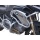 Velký padací rám Heed Exclusive pro BMW R1200GS LC 2013-2016, stříbrný