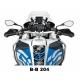 Tankpad na nádrž pro R1200GS Adventure LC 2014+, modro-černý