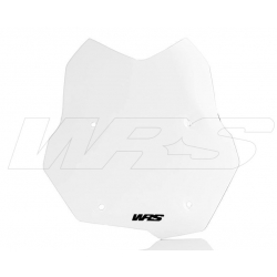 Sportovní plexi WRS 32cm pro BMW F850GS, čiré