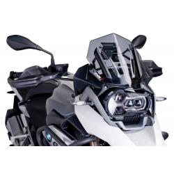Plexi sportovní nízké 33cm Puig pro BMW R1250GS/A, R1200GS/A LC 2013-2018, kouřové