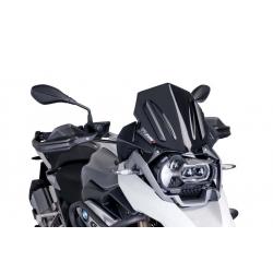 Plexi sportovní nízké 33cm Puig pro BMW R1250GS/A, R1200GS/A LC 2013-2018, černé