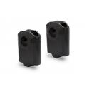 Zvýšení řidítek SW-Motech o 50mm nahoru pro 22mm řidítka, černé