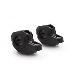 Zvýšení řidítek SW-Motech o 30mm nahoru, 22mm dozadu pro řidítka Ø28mm , černé