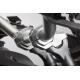 Zvýšení řidítek SW-Motech o 30mm nahoru, 21mm dozadu pro řidítka Ø22mm , stříbrné