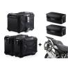 3x ALU kufry SW-Motech Trax Adventure + tašky + nosiče pro R1250GS, R1200GS LC 2013-2018, černé