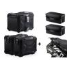 3x ALU kufry SW-Motech Trax Adventure + tašky + nosiče pro F850GS, F750GS, černé