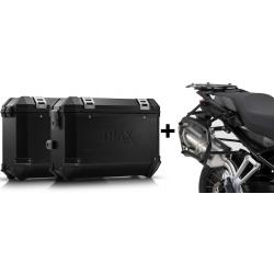 ALU boční kufry SW-Motech Trax ION + nosiče pro F850GS, F750GS, stříbrnéALU boční kufry SW-Motech Trax ION + nosiče pro F850GS,