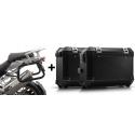 ALU boční kufry SW-Motech Trax ION + nosiče pro R1200GS/A 2004-2012, černé