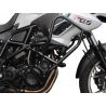 Velkýpadací rám značky Heed pro BMW F700GS 2012-2017. Komplexní ochrana motoru i horních plastových částí. Velmi pevná konstrukce. černá barva ocelové trubky průměr 25mm síla stěny trubky 2mm tip: doplňtetaškami do padacího rámu Heed