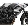 Velkýpadací rám značky Heed pro BMW F700GS 2013-2017 Komplexní ochrana motoru i horních plastových částí. Velmi pevná konstrukce. černá barva ocelové trubky průměr 25mm tip: doplňtetaškami do padací rámu Heed