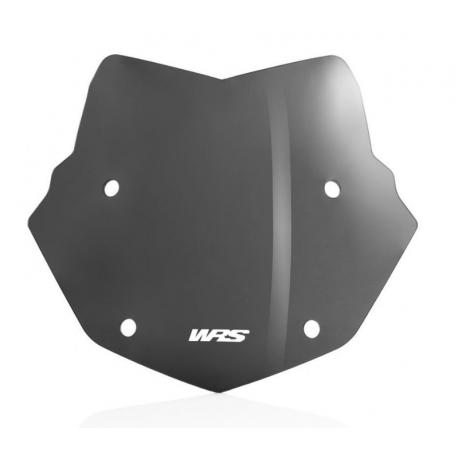 Rallye plexi WRS 32cm pro BMW R1250GS/A, R1200GS/A LC 2013-2018, tmavě kouřové