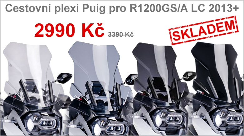 Plexi Puig pro BMW R1200GS/Adventure LC 2013+