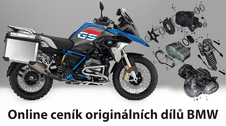 Online ceník originálních dílů BMW