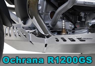 Padací rámy, kryty a blatníky pro BMW R1200GS