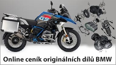 Online ceník originálních dílů BMW - MojeGS.cz