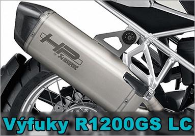Laděné výfuky pro BMW R1200GS LC
